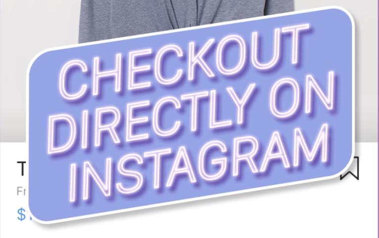 A breve potremmo acquistare direttamente da Instagram